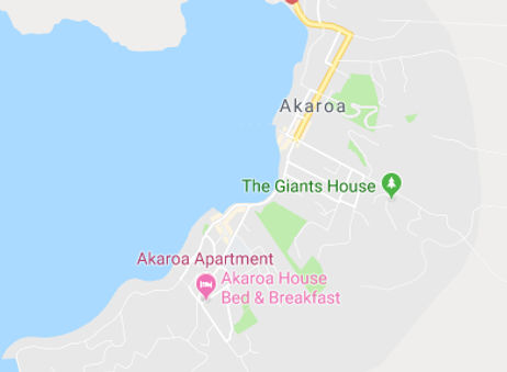 Akaroa House Location