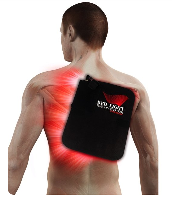 red light therapy wrap for sore back muscles