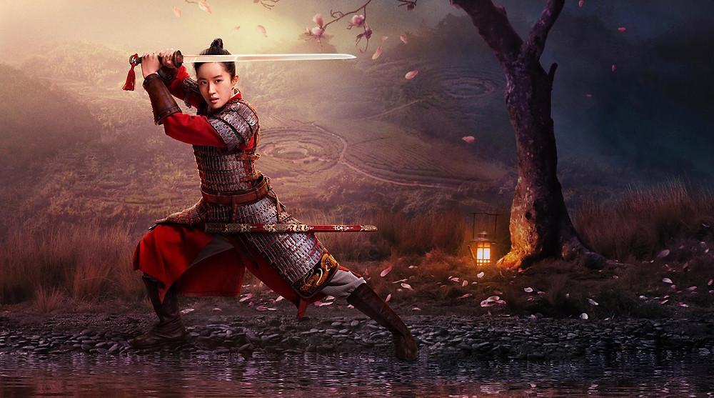 Mulan movie poster Chinese medicine chi