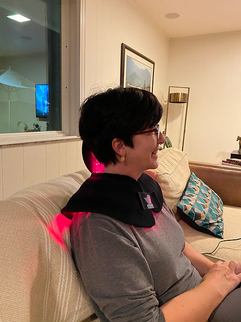 Red light therapy wrap