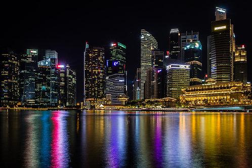 Tirage Photo Singapour 2 - A3