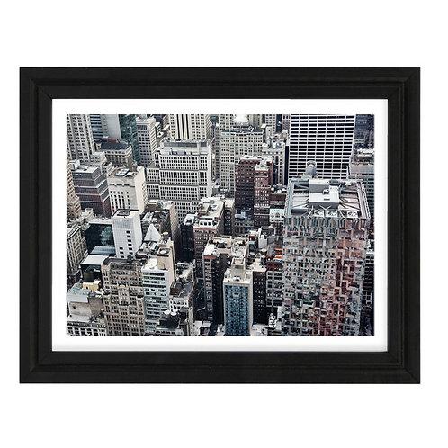 Photo New York 3 Rockfeller Center - A4 encadrée