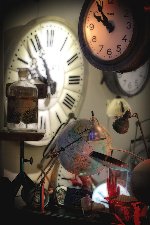 Tirage Photo Horloge 1  -  A4