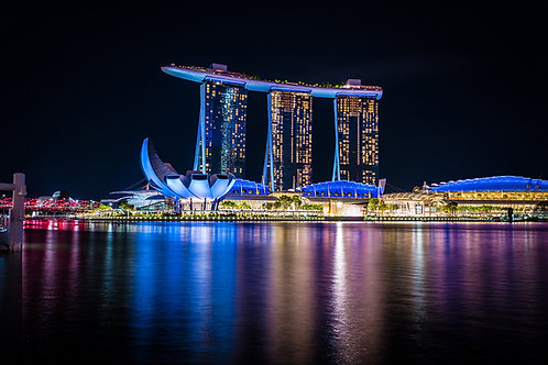 Tirage Photo Singapour 1  -  A4
