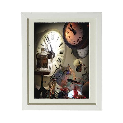 Horloge 1 - A4 encadrée