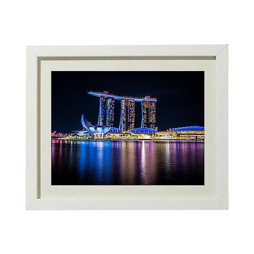 Singapour 1 - A4 encadrée
