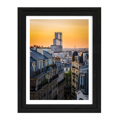 Paris 16 - A4 encadrée