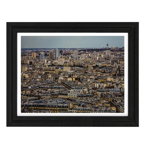Paris 18 - A4 encadrée