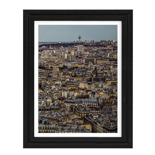 Paris 17 - A4 encadrée