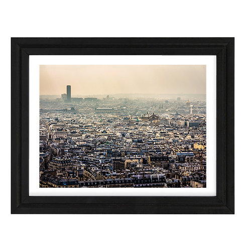 Paris 5 - A4 encadrée
