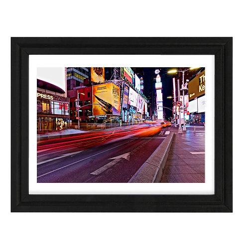 Photo New York 8 Time Square - A4 encadrée