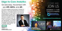 Exascale Era Webinars: HPE Edge-to-Core Analytics