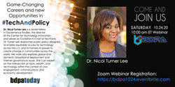 Dr. Nicol Turner-Lee visits BDPA-DC