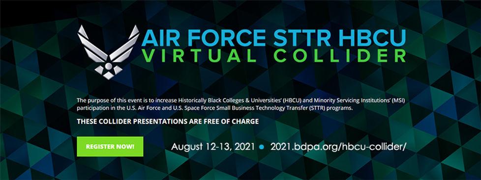 Air Force HBCU MSI Initiative Collider