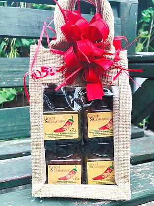 Gift Set - Chilli Sauces (Hot to Mild) - 400g