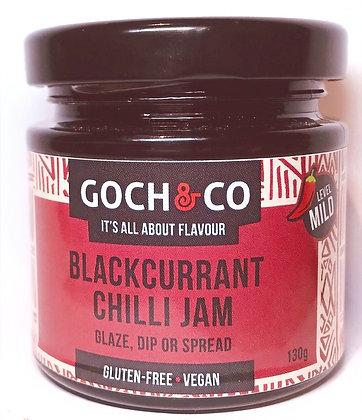 Blackcurrant Chilli Jam (Mild) - 130g