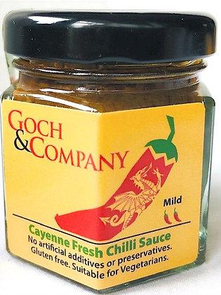 Cayenne Fresh Chilli Sauce (Mild) - 40g
