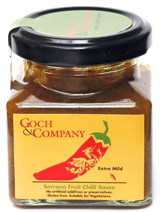 Serrano Fruit Chilli Sauce (Extra Mild)
