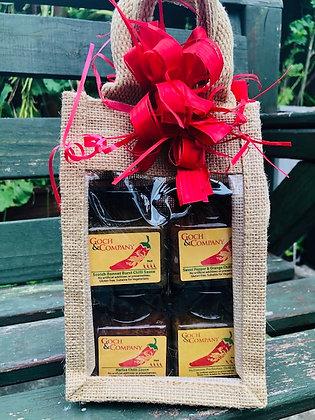 Gift Set - Chilli Sauces (Hot to Mild) - 400g