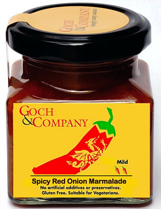 Spicy Red Onion Marmalade (Mild)