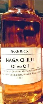 Naga Chilli Olive Oil (Hot) - 100ml