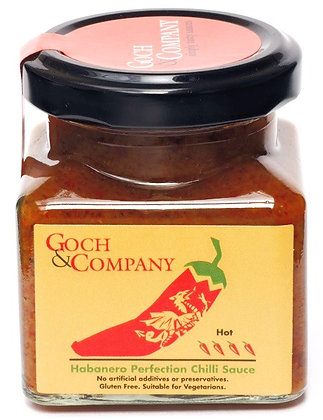 Habanero Perfection Chilli Sauce (Hot) - 100g