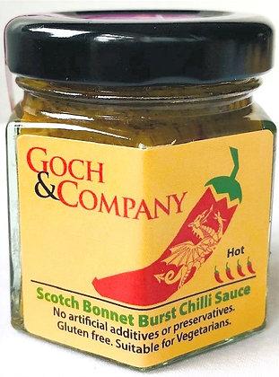 Scotch Bonnet Burst Chilli Sauce (Hot) - 40g