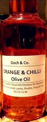 Orange and Chilli Olive Oil (Medium) - 100ml