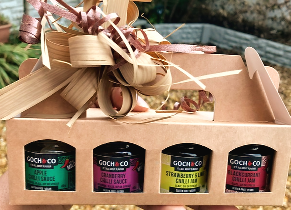 Gift Set Chilli Jams (Mild)