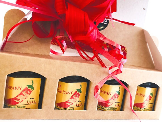 Gift Set - Chilli Sauces (Hot to Mild) - 160g