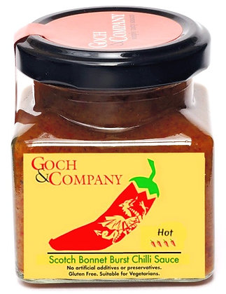 Scotch Bonnet Burst Chilli Sauce (Hot)
