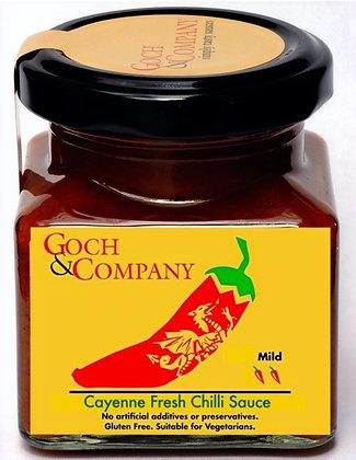 Cayenne Fresh Chilli Sauce (Mild) - 100g