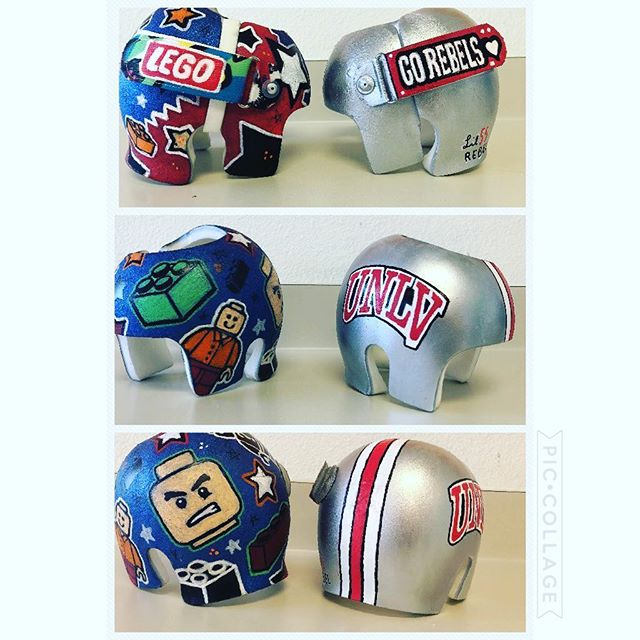Wow! Check out these twins helmets, they