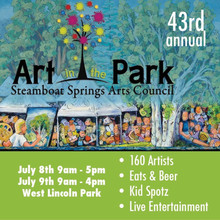Steamboat Springs Art in the Park 2017