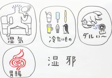 【梅雨時は胃腸が弱る❗️❓️】鍼灸ゆーせん/大阪府八尾市