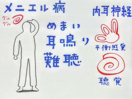 めまい(メニエール病)/鍼灸院/鍼灸ゆーせん/大阪府八尾市上尾町