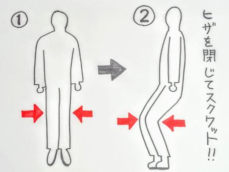 【O脚と変形性膝関節症の運動】大阪府八尾市/鍼灸ゆーせん
