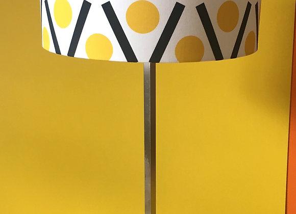Handmade Yellow Lampshade