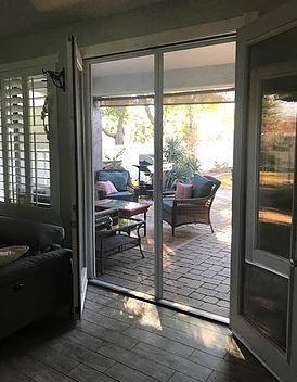 Tucson Retractable Screen Door