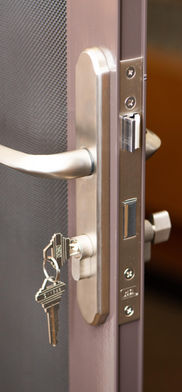 Safe Shiled Security Screen Door