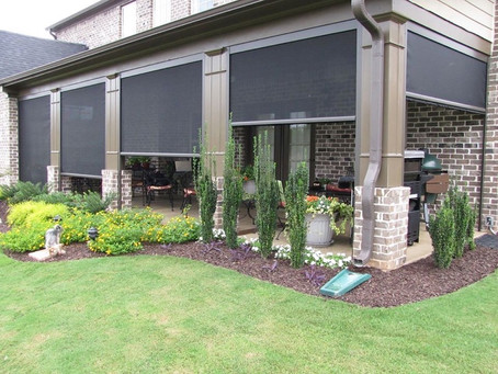 Retractable Patio Screens!