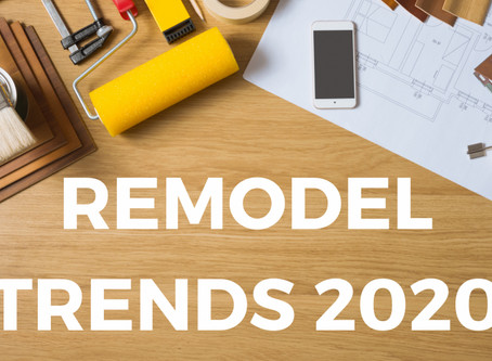 2020 Home Improvement Trends