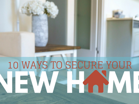 10 Ways To Secure Your Home