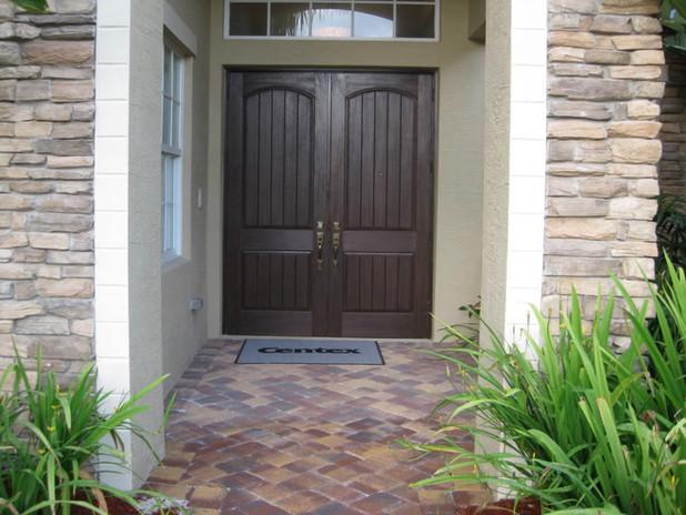 Double Steel Entry Door