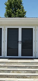 Safe Shield Security Screen French Door