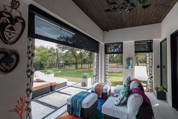 Sun Shield Patio Enclosure