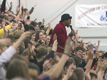 Anti-Bullying Messenger: When Sir Rod Speaks, Kids Listen