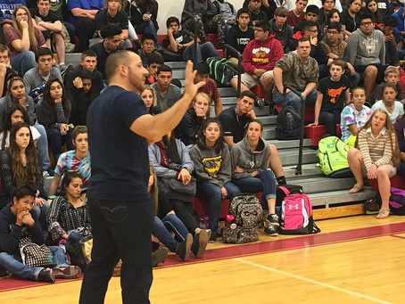 Kevin Hines to Speak at Folsom Cordova Unified School District