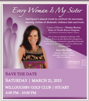 Every woman is my sister event