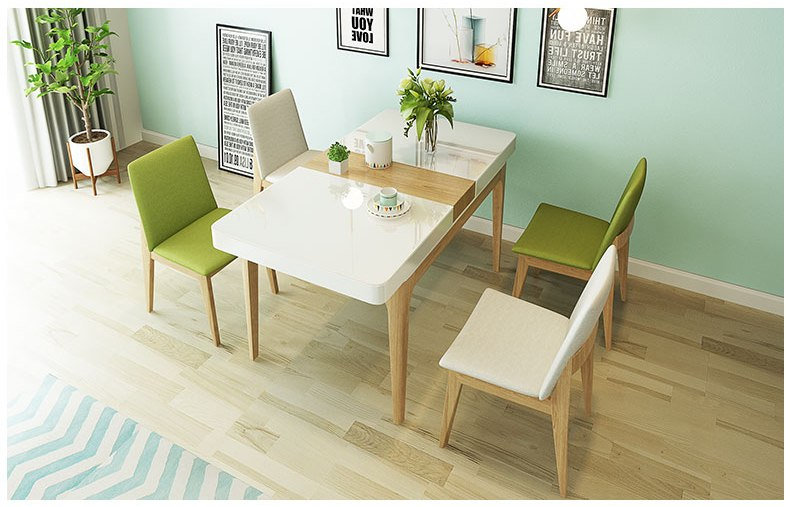 PFCT01- Dining table & 4 Chairs one set